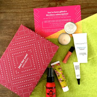My First Birchbox!