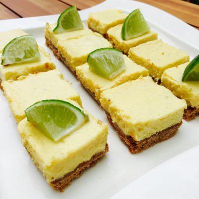 5 Ingredient Key Lime Pie Bars!