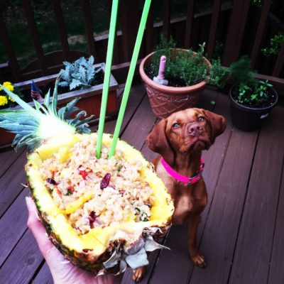 Not Your Typical Pineapple Fried Rice