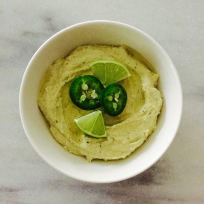 Lime Jalapeño Hummus