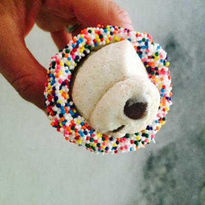 Ice Cream Cone Cannolis