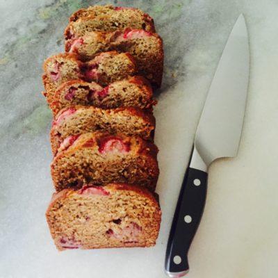 Strawberry Chia Banana Bread