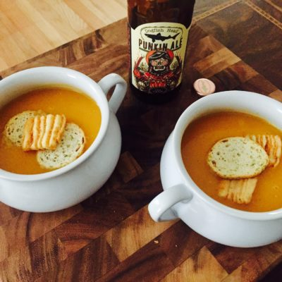 Butternut Squash Beer Soup