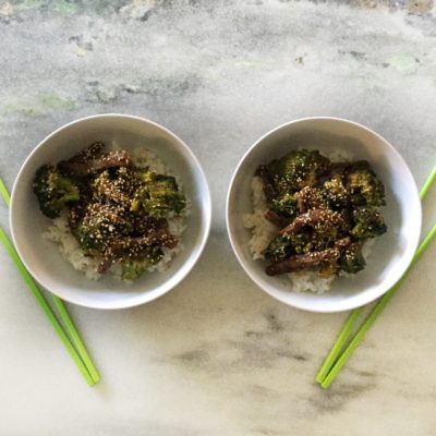Simply Sesame Beef & Broccoli