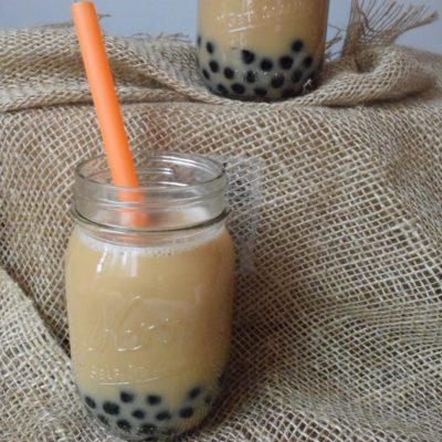 Earl Grey Vanilla Bubble Tea!