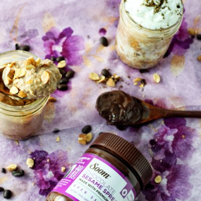 Mocha Almond Overnight Oats And A Last Minute Mother's Day Gift Idea!