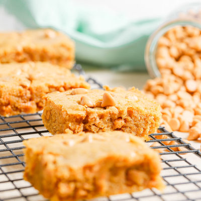Sweet Potato Butterscotch Blondies