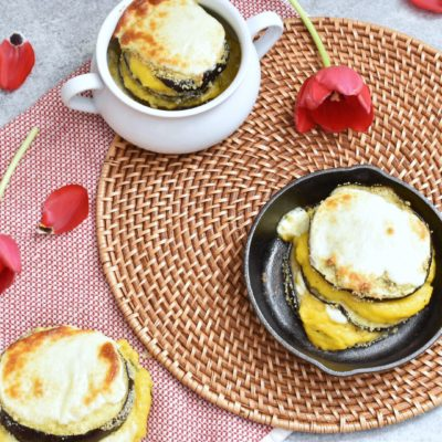 Butternut Squash Eggplant Parmesan