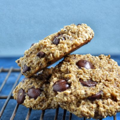 Banana Chia Chocolate Breakfast Cookies
