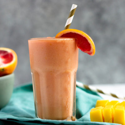 Blood Orange Mango Smoothie