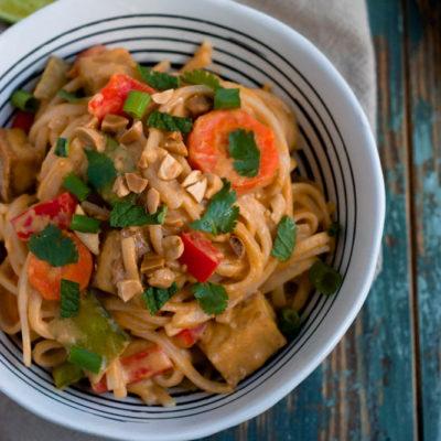 Thai Peanut Noodles