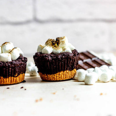 S'mores Brownie Cups