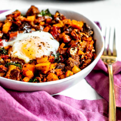 Potato Chorizo Breakfast Hash