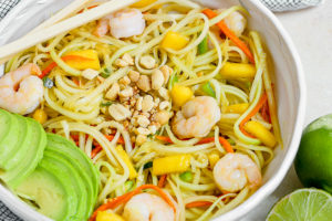 Green Papaya Shrimp Salad