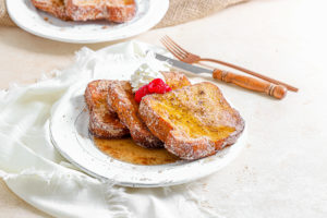 Air Fryer Cinnamon Sugar French Toast