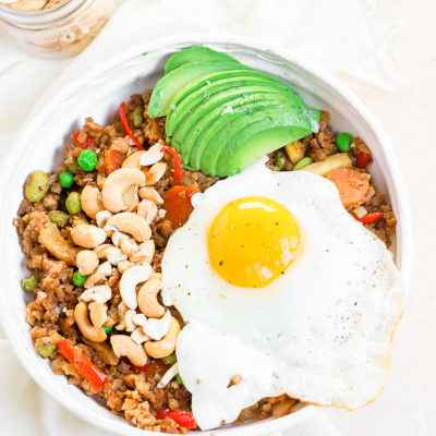 Cashew Cauliflower Fried Rice