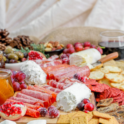 How to Build an Epic Holiday Goat Cheese Board