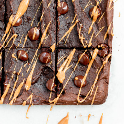 Peanut Butter Black Bean Brownies
