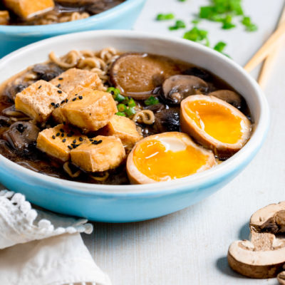 Ninja Foodi Mushroom Tofu Ramen