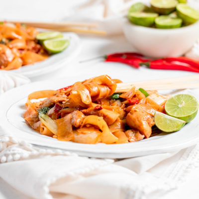 30 Minute Thai Drunken Noodles