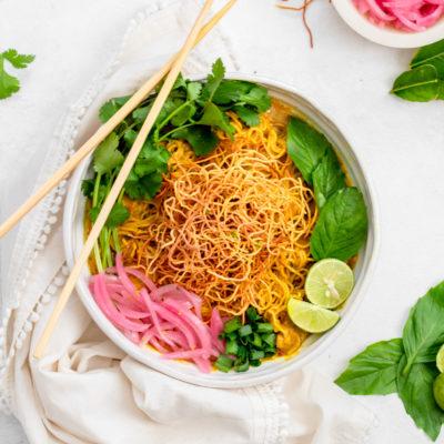Chicken Khao Soi (Northern Thai Curry)