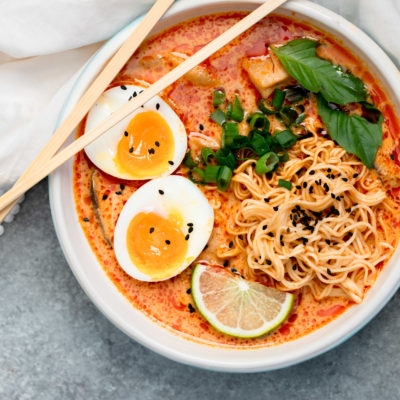 20 Minute Thai Red Curry Ramen