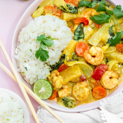 Thai Shrimp Yellow Curry