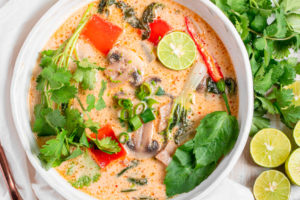 Tom Kha Soup (Thai Coconut Soup)