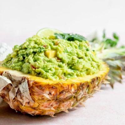 Spicy Pineapple Guacamole