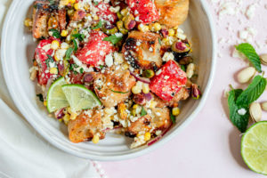 Summer Watermelon Panzanella