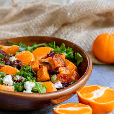 Fall Clementine Harvest Salad