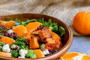 Fall Clementine Harvest Salad